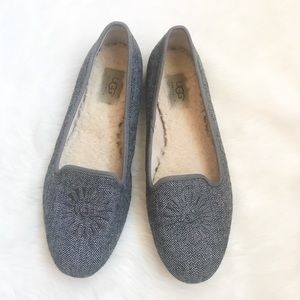 UGG Australia size 8.5 Alloway Charcoal Tweed shoe